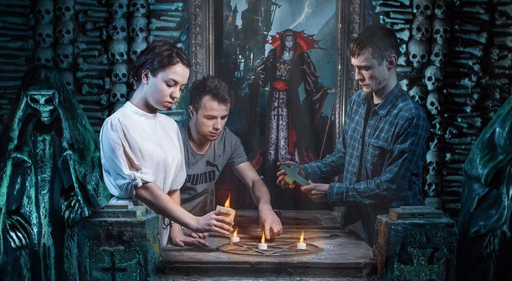 Перформанс Дракула в Москве фото 0