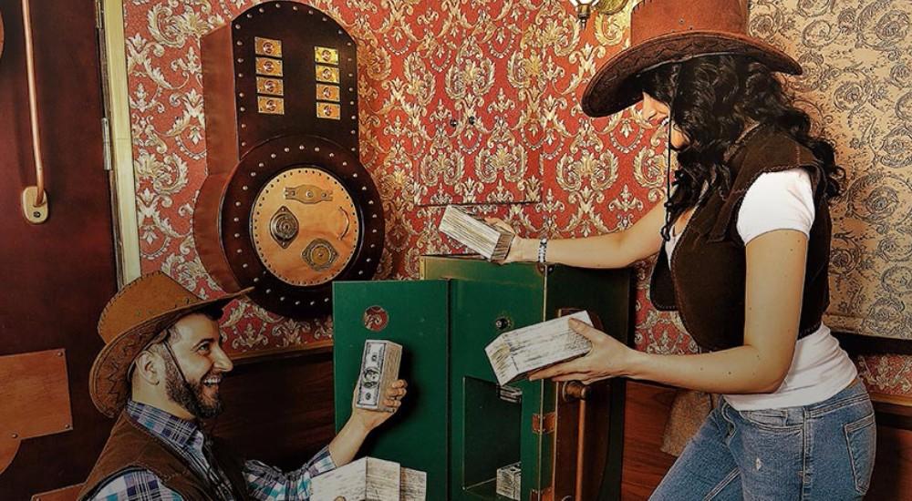 Квест Ковбойское приключение на Диком Западе в Москве фото 4