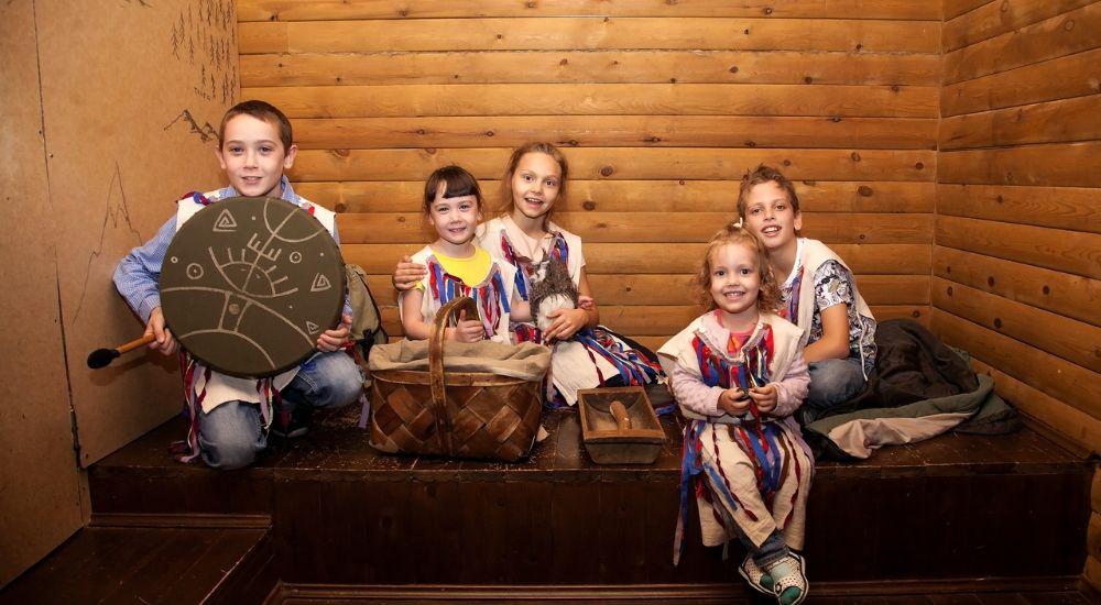 Квест Хижина шамана.KIDS в Кемерово фото 1