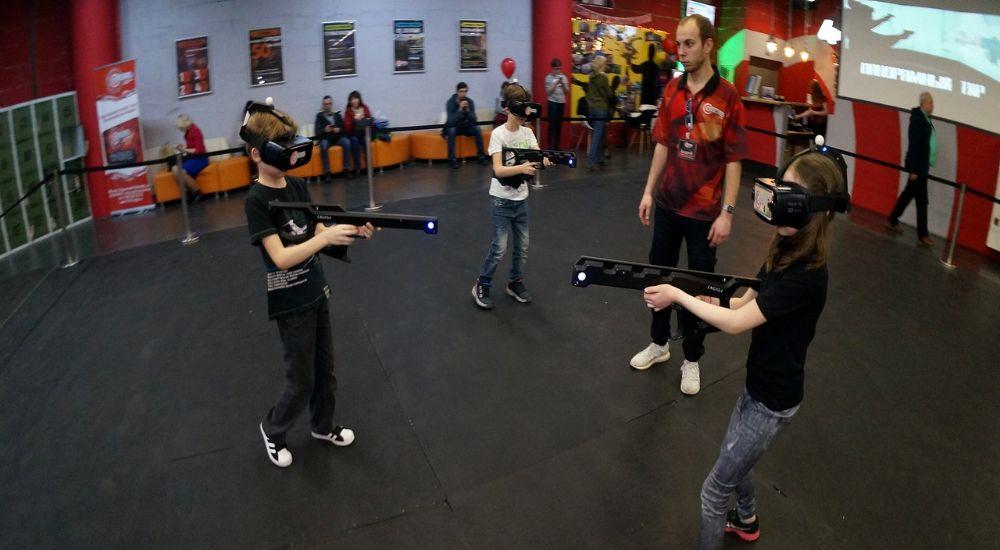 VR квест «Командная VR-игра Мафия» в Москве фото 1
