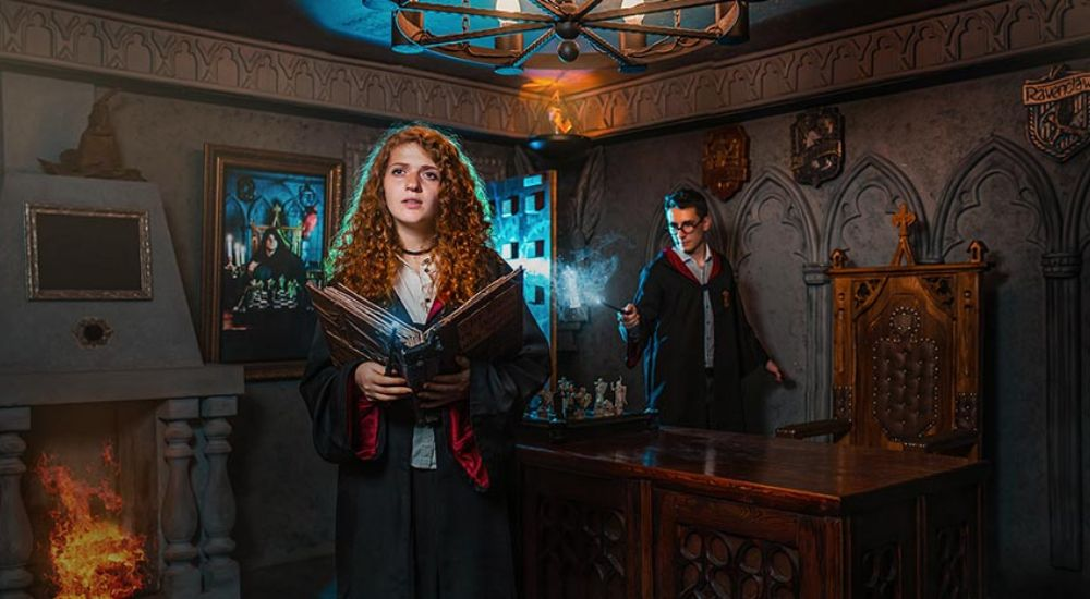 Квест Гарри: школа магии в Москве фото 0