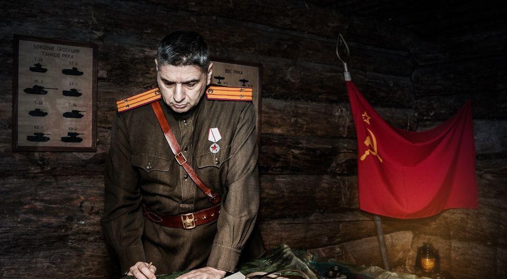 Квест Землянка в Москве фото 1