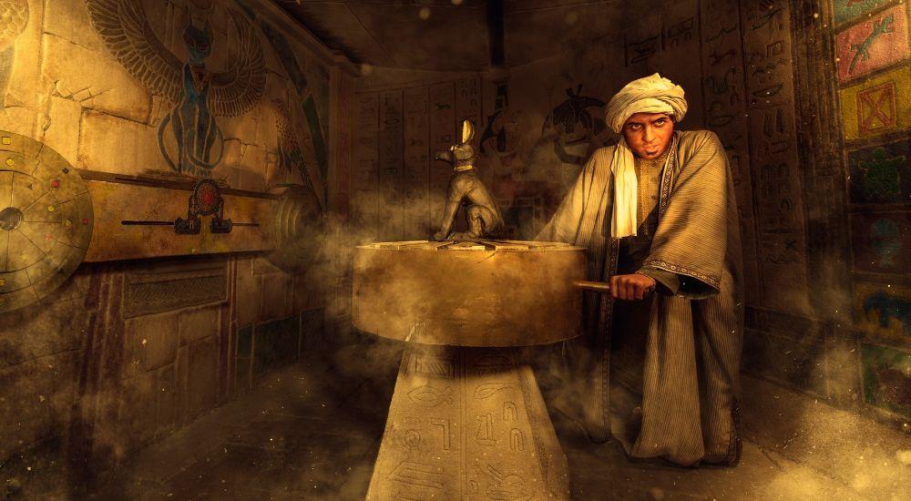 Квест Проклятие Рамзеса в Москве фото 1