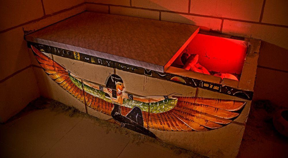Квест Мумия - проклятие фараона в Волжском фото 2