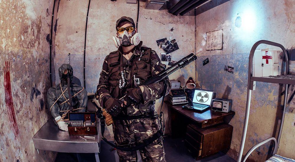 Квест S.t.a.l.k.e.r. Зона отчуждения в Москве фото 2