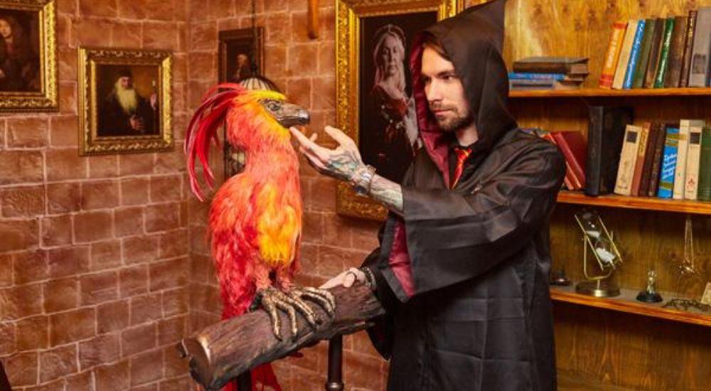 Квест Гарри Поттер и Тайная комната в Владивостоке фото 3