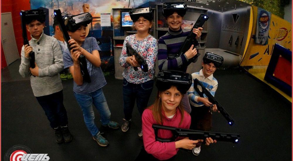 VR квест «Командная VR-игра Мафия» в Москве фото 2