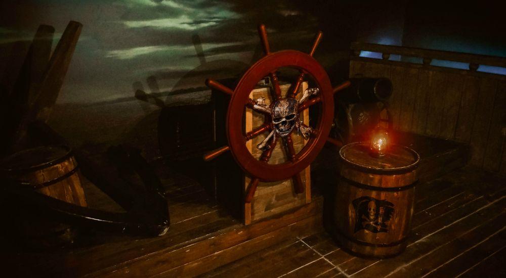 Квест Корабль пиратов в Москве фото 0