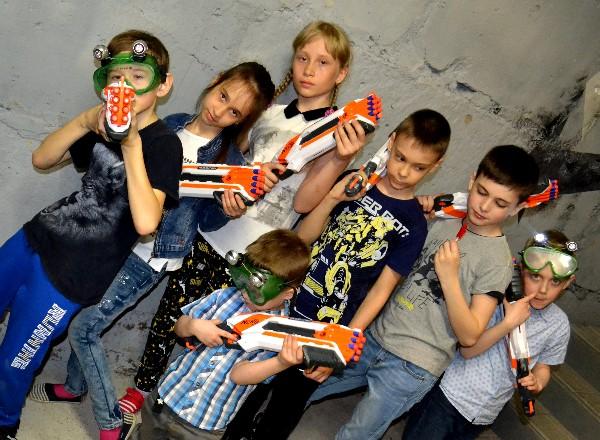 Квест Армия Kids в Кургане