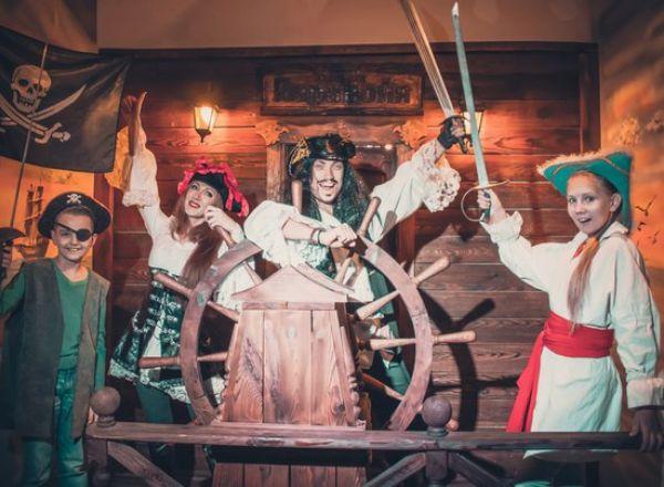 Квест Пираты. Карибский бунт в Новокузнецке