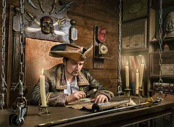 Квест Пираты Карибского моря в Москве