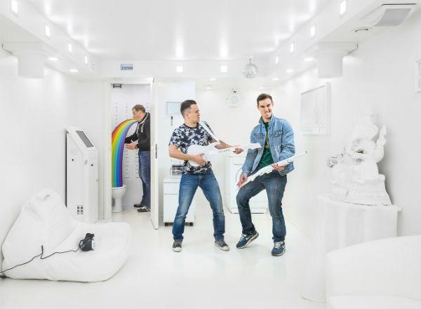 Квест Белая комната в Москве