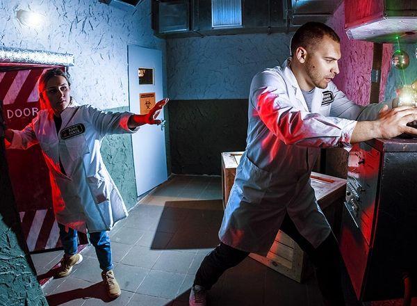 Квест Инопланетная лаборатория «Half-Life» в Москве