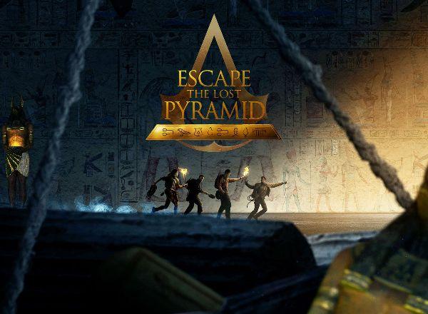 VR квест Escape the lost Pyramid в Томске
