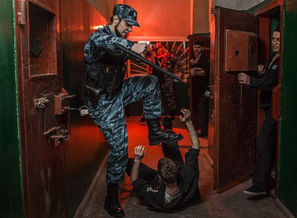 Перформанс Побег в Москве