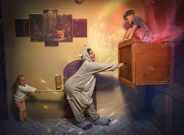 Квест Джерри в доме Великана в Волгограде