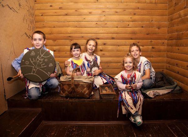 Квест Хижина шамана.KIDS в Кемерово