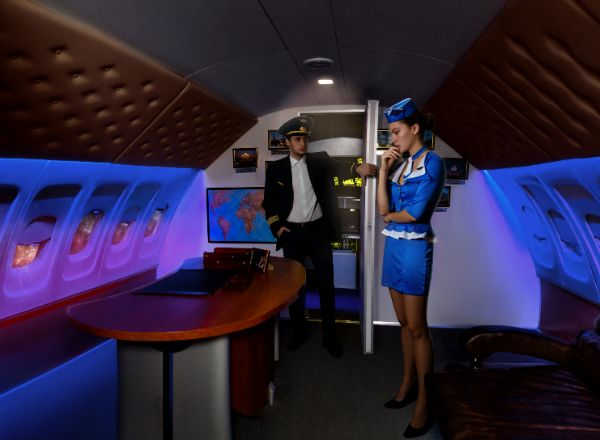 Квест Президентский рейс в Москве